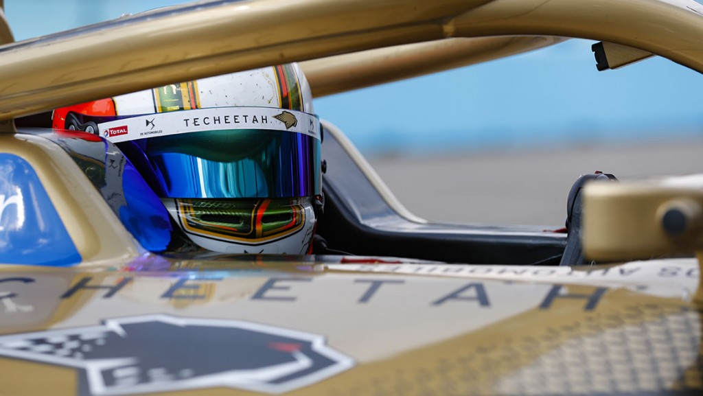 BERLIN TEMPELHOF AIRPORT, GERMANY - AUGUST 09: Antonio Félix da Costa (PRT), DS Techeetah during the Berlin ePrix IV at Berlin Tempelhof Airport on Sunday August 09, 2020 in Berlin, Germany. (Photo by Sam Bloxham / LAT Images)